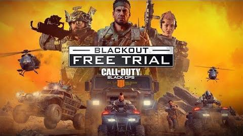 Official Call of Duty® Black Ops 4 — Blackout Free Trial Announcement