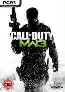 Обложка PC версии MW3