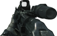 AK-47 Hybrid Sight Off MW3