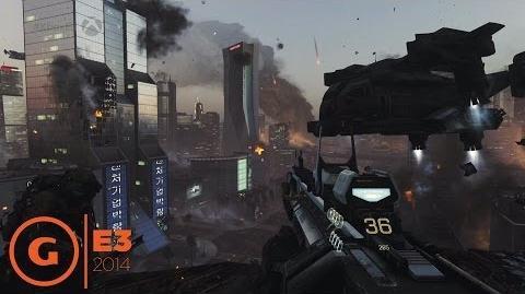 CaJluIIcA/Cod: AW E3 геймплей