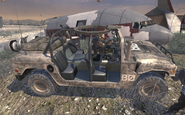 Humvee used by Ultranationalists MW2