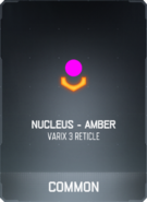 Nucleus - Amber Supply Drop Card BO3