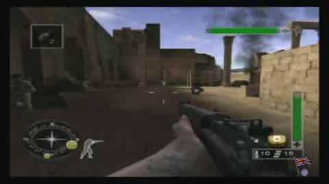 Call of Duty Finest Hour - North Africa, Mission 4