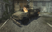 Destroyed Ural-4320 Fallen MW3