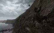 Rangers climbing a cliff CoD2