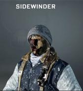 Sidewinder Face Paint BO