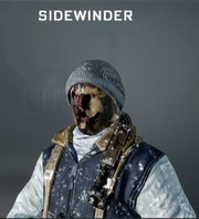 Sidewinder Face Paint BO