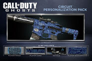 Circuit Personalization Pack CoDG