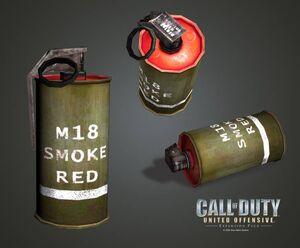 Дымовая граната UO
