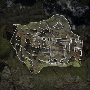 Aground overhead map MW3