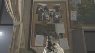 Bulletinboard with a picture of Price and Farah in Going Dark MW 2019