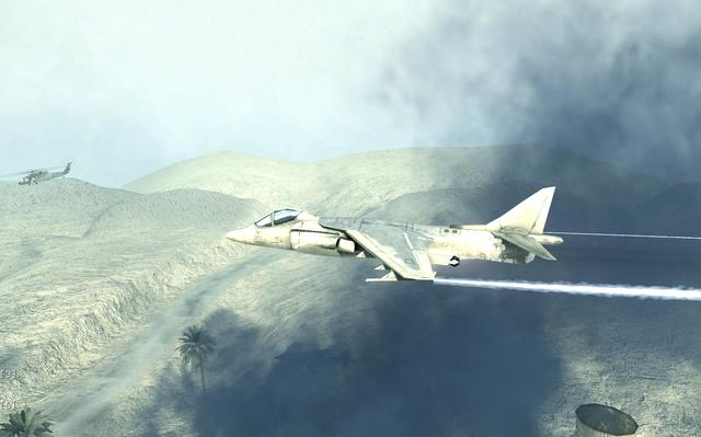File:AV-8B Harrier II side view Charlie Don't Surf COD4.png
