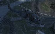 Crashed UH-60 Safehouse COD4