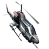 Attack Helicopter HUD icon BO