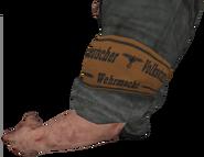 Volkssturm armband model cut WaW