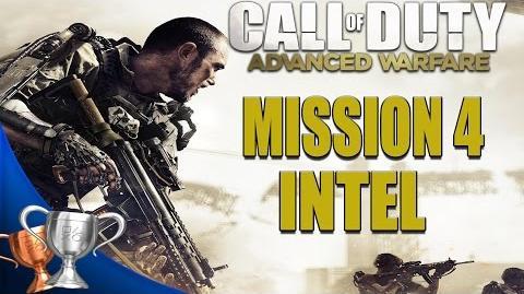 Call of Duty Advanced Warfare - All Intel Locations - Mission 4