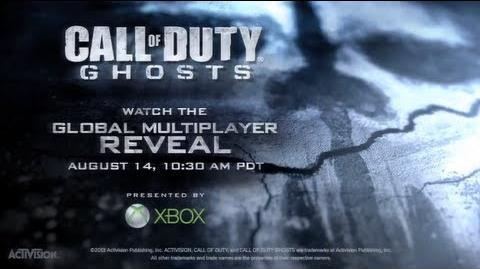 Official Call of Duty® Ghosts Multiplayer Reveal Event Tune-In