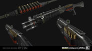 Rack-9 Smoothbore 3D model concept IW