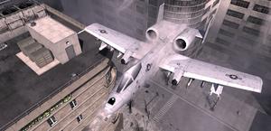 A-10 Warthog Scorched Earth MW3
