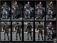 Loyalists Character models MW3