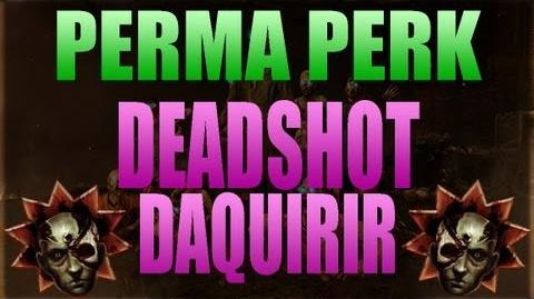 """Perma Perk"" - ""Deadshot Daiquiri"" (Zombies Easter Egg)"