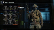 Call of Duty Body Male BO3