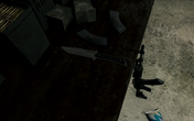 Combat Knife Back on the Grid MW3