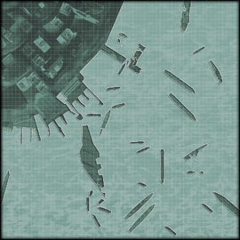 Hunter Killer minimap harbor MW3