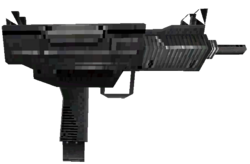 Mini-Uzi third person MWDS