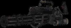 Minigun Portable model CoDG