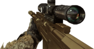 AS50 Gold Camouflage MW3