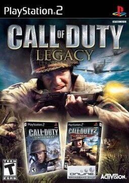 Call of Duty Legacy art cover PS2