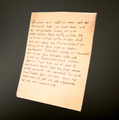 Letter CoD WWII