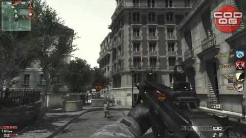 PARIS Modern Warfare 3 Juggernault Gameplay