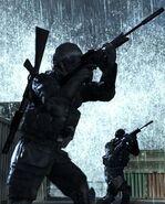 Shooting game call duty4 5
