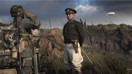 COD WW2 HQ general