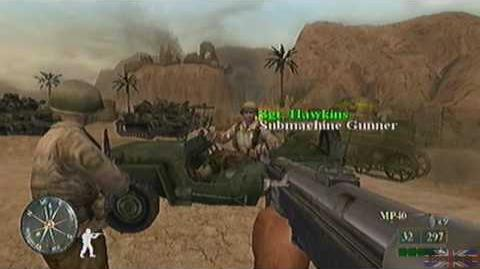 Call of Duty 2 Big Red One - Tunisia, Mission 3 Part 2 real version