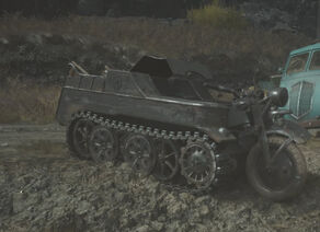 Sd. Kfz. 2 in The Rhine WWII