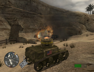 Tankers mission CoD2 BRO