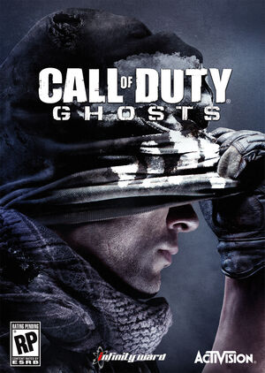 Call of Duty Ghosts cover