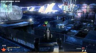 Call of Duty Modern Warfare 2 - Oil Rig (Multiplayer Map)