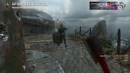 Call of Duty WWII Киллкам за зомби