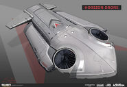 Horizon Drone Concept Art by Eric Spray AW