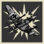 Ack Ack trophy icon WWII