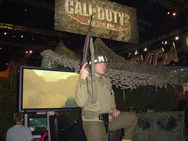E3 2005 Call of Duty 2 booth