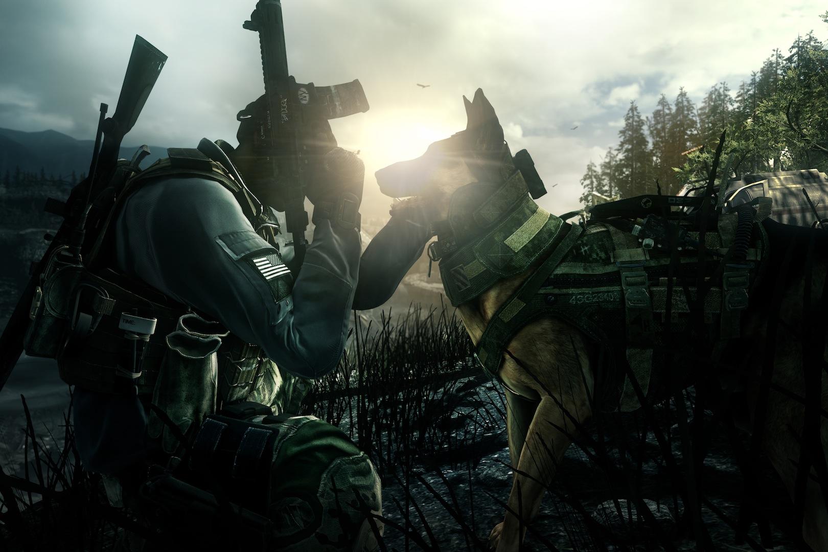 No mans land ghosts call of duty wiki fandom powered by wikia no mans land good boy riley cod ghosts sciox Image collections