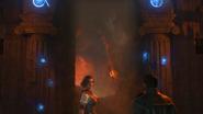 Scarlett and Diego Gates of Delphi Aincent Evil intro BO4