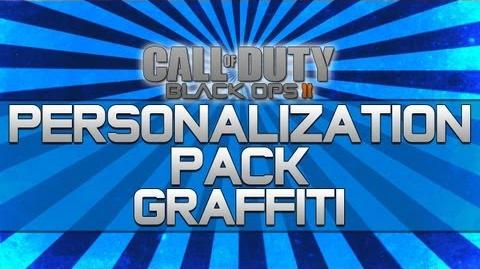 Black Ops 2 - Personalization Pack Graffiti!! (Camo, Reticle and Calling Card)