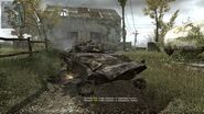 Cod mw MP Overgrown Destroyed BMP-2