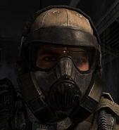 Grinch gas mask